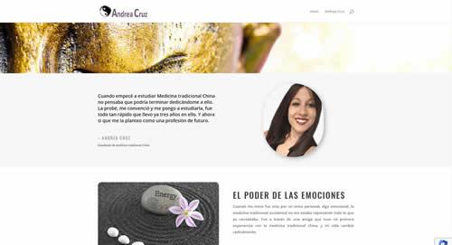 Opiniones de clientes. SiteWeb: Andrea Cruz